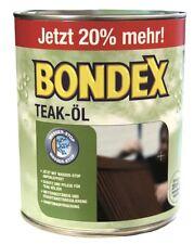 BONDEX Teak-Öl Farbe: Teak 3,00 L 20% mehr by Dyrup Holzschutz NEU&OVP