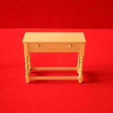 Occassional Table (pine) - Dolls House Miniature