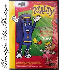 Psalty's Praise Party Two! Kids Worship Story Childrens Stage Show Fun Best DVD