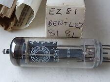 EZ81 BENTLEY  NEW OLD STOCK VALVE TUBE JY13