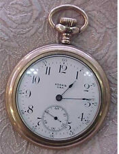 Adonis USA Gold Swiss Pocket Watch S/N 3058075