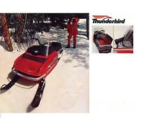 CHAPARRAL SNOWMOBILE PARTS MANUALS for 1973 SS III Firebird Thunderbird Service