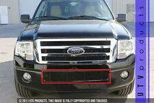 GTG 2007 - 2014 Ford Expedition 1PC Gloss Black Bumper Billet Grille Insert