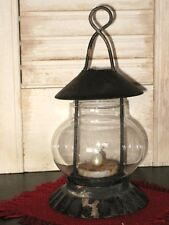 FARMHOUSE STEEPLE TEA LIGHT Candle LANTERN ~ ONLY candle NOT included