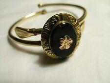 NOW 20% OFF--Vintage Antique Bates & Bacon 12K Gold GF Cameo Bracelet Claspet