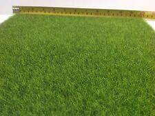 Dollhouse Miniature Landscaping Garden Yard Flooring Grass Mat 1ft x 1ft As Real