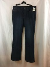 Joe's Jeans Dark Blue Icon Bootcut Leg 32 Whiskers Women's Denim Joe Stretch