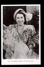 r4080 - Princess Elizabeth a 00004000 t Princess Anne's Christening - Tuck's postcard