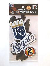 MLB Kansas City Royals Manget Set 2-Pack Team Decal Vinyl Wall Decor