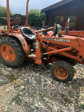More details for kubota compact tractor digger with loader and backactor backhoe