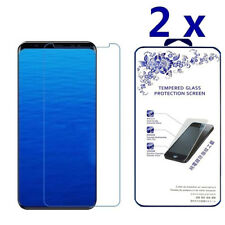2X For Samsung Galaxy S9(Not Full Coverage) Tempered Glass Screen Protector
