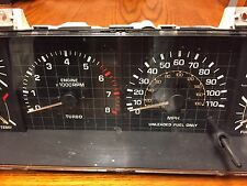 86-87 Toyota 4Runner /Truck Turbo Speedo / Tachometer Gauge Cluster