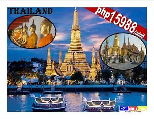Bangkok Thailand Package 4D3N with Airfare and Tour Great Deal