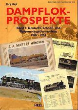 DAMPFLOK - PROSPEKTE (Band 1) (Chemin de fer Allemand, train)