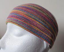 ** Fair Trade ** FABULOUS! Nepalese Striped Hippy Headband Multi Colour (SHB19)