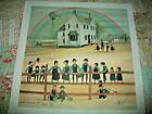 1994 P Buckley Moss Signed School Days Print # 57/3000 Amish Children
