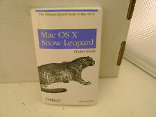 Mac OS X Snow Leopard Pocket Guide by Chris Seibold 2009 1st edition Paperback