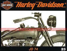 HARLEY DAVIDSON 1200 JD 74 1921 Custom Mania Speed Racer Usines YORK KANSAS CITY