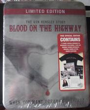 "KEN HENSLEY ""Blood On The Highway"" Rare CD + 2DVD + Shirt + Extras Tin Box ss"