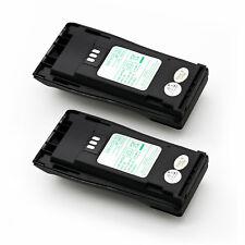 2x Nntn4496 Nntn4851A Battery for Motorola Cp340 Cp360 Cp380 Gp3688 Radio