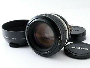 Nikon 50mm F/1.2 Ai-S Nikkor 50/1.2 Ais MF Prime Lens with Hood HS-9 A854510