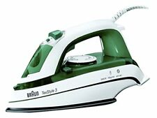 BRAUN TS345 STEAM IRON, 2000W, WHITE-GREEN (N)