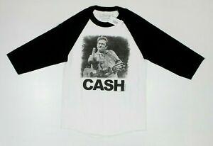 Jim Marshall Official JOHNNY CASH Bird San Quentin Raglan Shirt New! (3F4