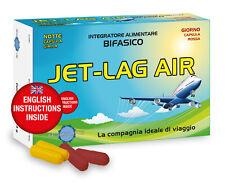 JET-LAG AIR integratore bifasico. Ritmo SONNO/VEGLIA OK nei cambi di fuso orario