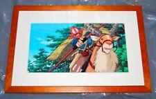 Studio Ghibli Museum hand painted animation cel reproduction Princess Mononoke