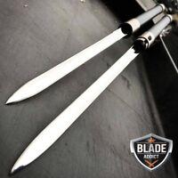 """27"""" NINJA SAMURAI Dual Blade TWIN SWORDS Katana Japanese Combat COSPLAY"""