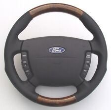 FORD / FPV SPORTS WOOD/LEATHER DESIGN SW (# HA6TXD) FITS FORD/FPV BA-BF