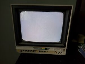Vintage Commodore 1702 Video Computer Monitor Works