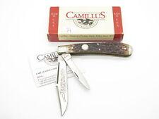 1998 Camillus USA NKCA CCC-4 Jigged Bone Jumbo Folding Trapper Pocket Knife