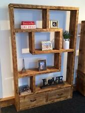 BESPOKE MADE TO MEASURE SOLID SHELVING UNIT / BOOKCASE - CAN MAKE TO ANY SIZE.
