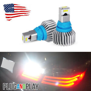 Error Free Bright White LED Backup Reverse Lights Bulbs For Audi A4 A5 Q3 Q5 Q7