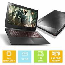 """15.6"""" Lenovo Y50-70, Intel i7 up to 3.40GHz, 1TB SSHD, 16GB, GeForce DDR5 Laptop"""