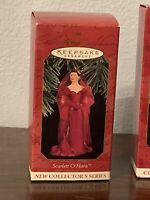 Hallmark Keepsake Barbie and woman Christmas Ornaments 3 Collection