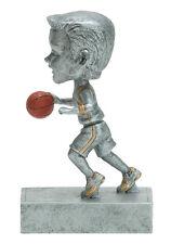 Male Basketball Bobblehead Resin Trophy - Free Engraving