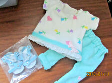 Hearts Leggings Set handmade to fit Wellie Wishers Dolls     4+