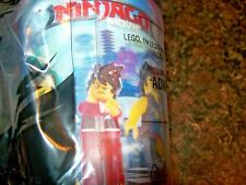 McDonald's The Lego Ninjago Movie Red Cup Kid's Meal Toy NIP #6