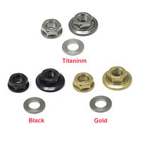 NEW! nov front axle Titanium Nuts and Washer set for Brompton / [nov291,292,293]