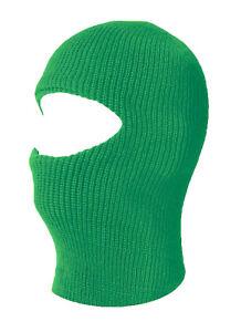 TopHeadwear One 1 Hole Ski Mask - Kelly Green