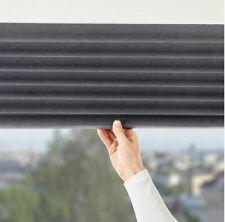 ikea SCHOTTIS Block-out pleated blind, dark grey W100 / L190 cm 903.695.07 UK