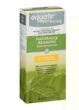 Equate Naturally Beaming Daily Moisturizer With Soy Based Complex, 4 Fl Oz read