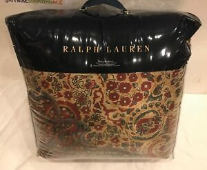 RALPH LAUREN ONE FULL/QUEEN COMFORTER. BOHEMIAN MUSE NEW! M.S.R.P $430.00 TAG!