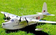 Giant 1/10 Scale Sunderland II scratch build R/c Seaplane Plans 136 in. wingspan