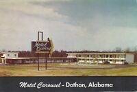 Dothan, AL - Motel Carousel - Exterior and Grounds - Signage