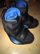 New listing 🔥Slingshot Ktv 11 Men's Wakeboard Bindings/Boots Closed Toe Straps Black/Blue