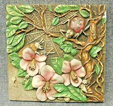 Harmony Kingdom Picturesque Webmaster's Woe Byron'S Garden Tile Plaque Pxge2