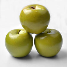 1 pcs Decorative Green Apple Artificial Lifelike Fruits Fake Apples Home Decor